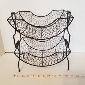 Chicken Wire Fruit Kitchen Basket